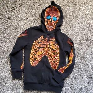 Tony Hawk zip hoodie boys halloween